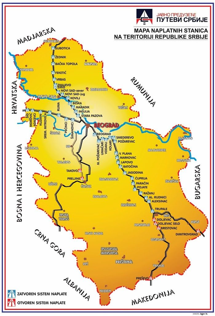 opłaty serbia