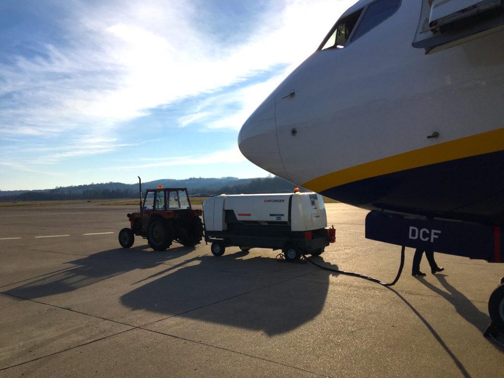samolotem na bałkany