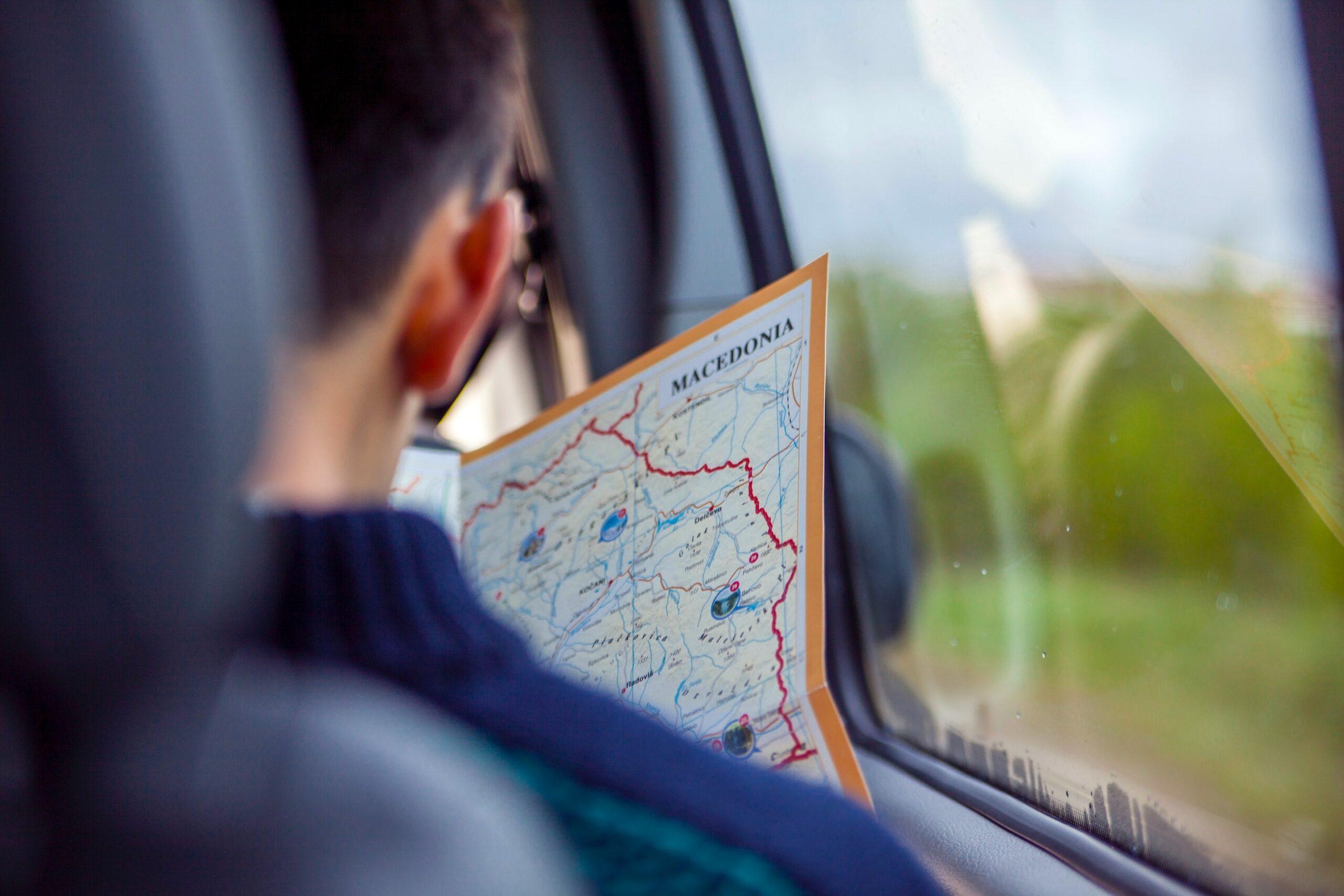 samochodem do macedonii