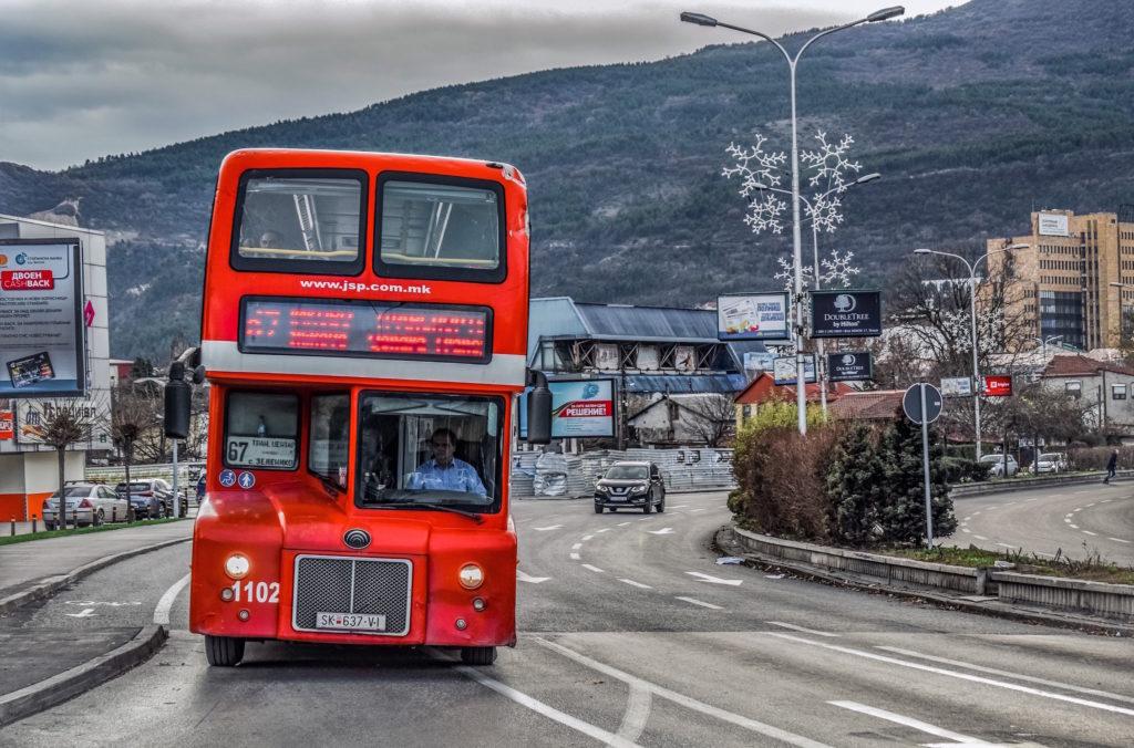 skopje autobus