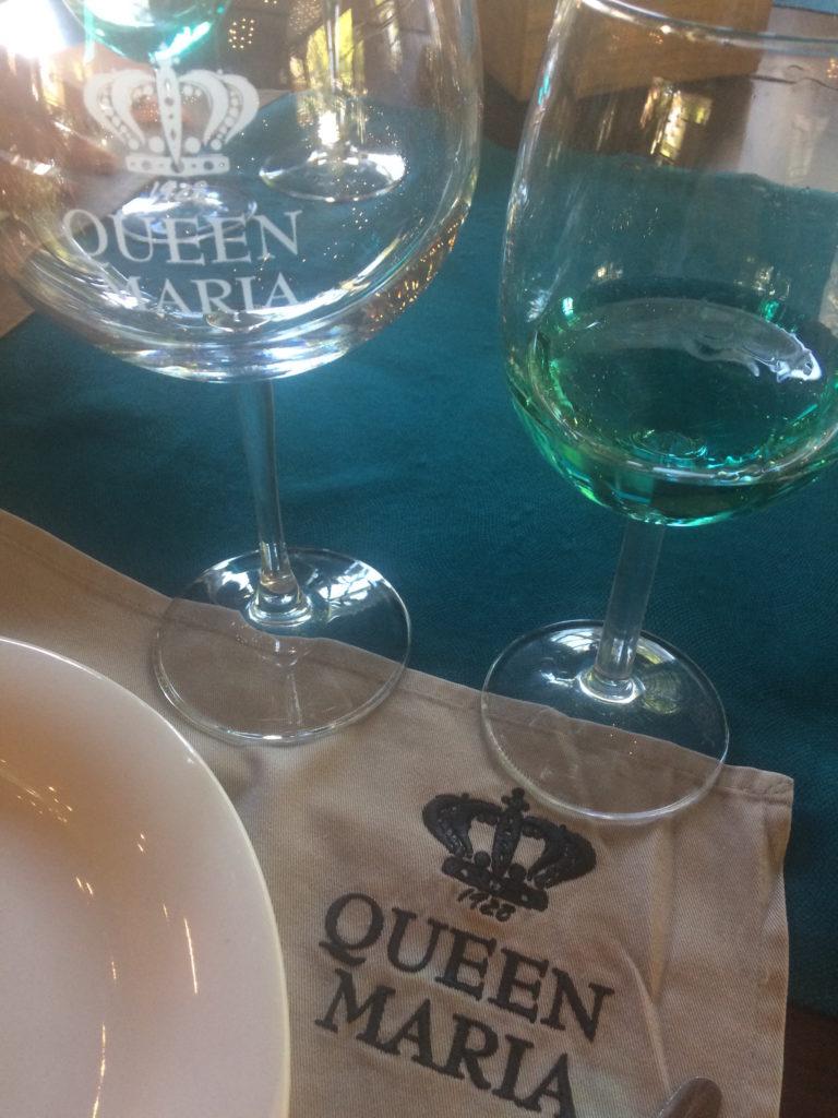 niebieskie wino